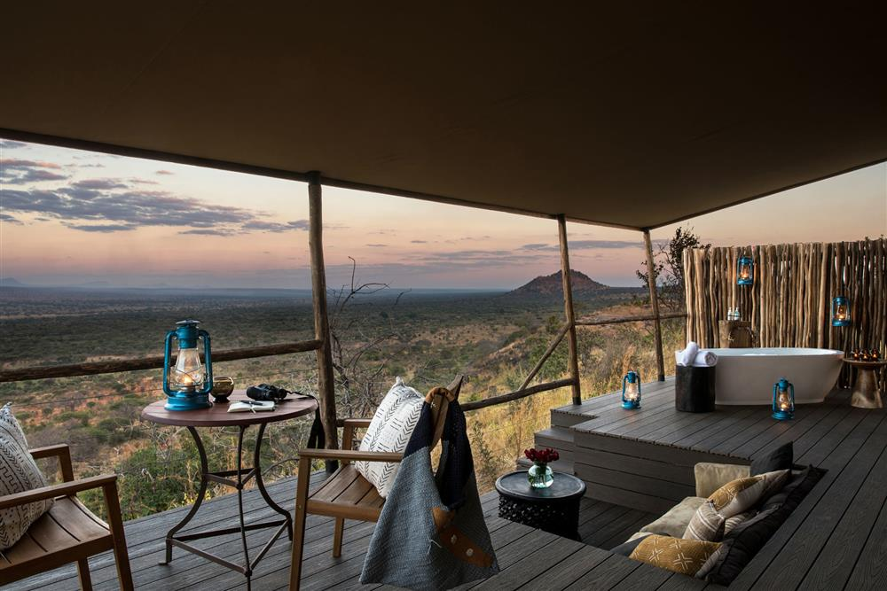 Lemala Mpingo Ridge Tented Lodge