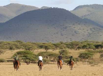 Kenya - Horse Riding Safari