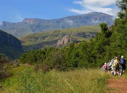 Drakensberg Mountains & Midlands